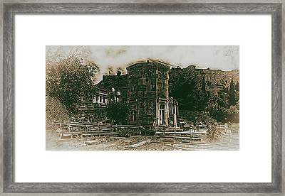 Tower Of The Winds Framed Print