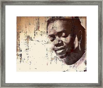 Tracy Chapman Framed Print