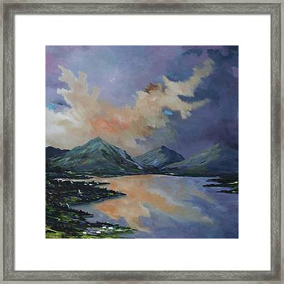 Tranquility In Killarney  Kerry Framed Print
