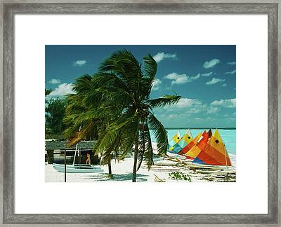 Treasure Cay Framed Print