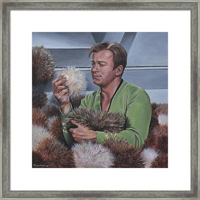 Tribble Trouble Framed Print