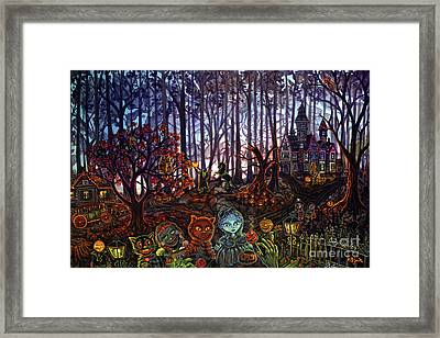 Trick Or Treat Sleepy Hollow Framed Print