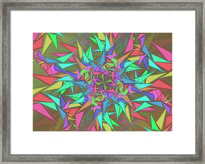 Trigonometry Framed Print