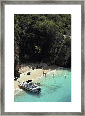 Trip To Little Bay Framed Print by Slim Aarons