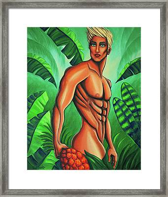 Tropic Beauty Framed Print