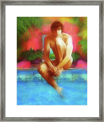 Tropic Haze Framed Print