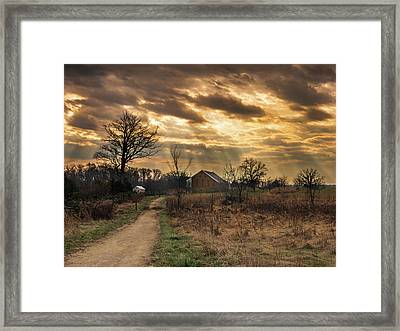Trostle Sky Framed Print