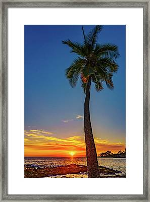 Tuesday 13th Sunset Framed Print