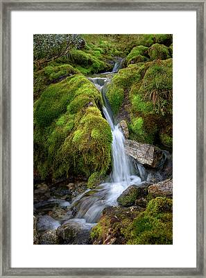 Tufteelvi, Norway Framed Print