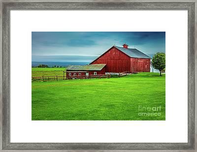 Tug Hill Farm Framed Print