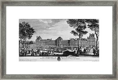 Tuileries Palace Framed Print by Hulton Archive
