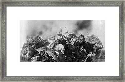 Turkish Defeat Framed Print by Hulton Archive