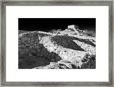 Tuzigoot National Monument Framed Print by Richard Cummins