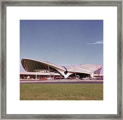 Twa Terminal Framed Print by Hulton Archive