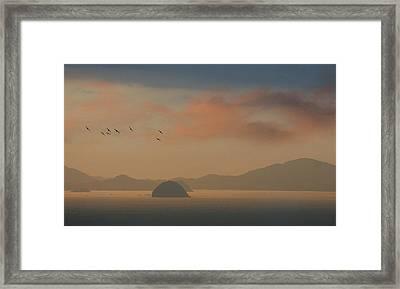 Twilight Calm Framed Print