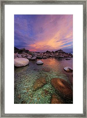 Twilight Canvas  Framed Print