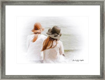 Two Dreamers Framed Print