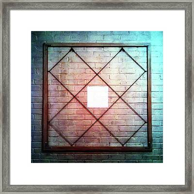 Two - Wall Framed Print