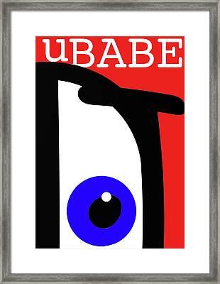 Ubabe French Framed Print
