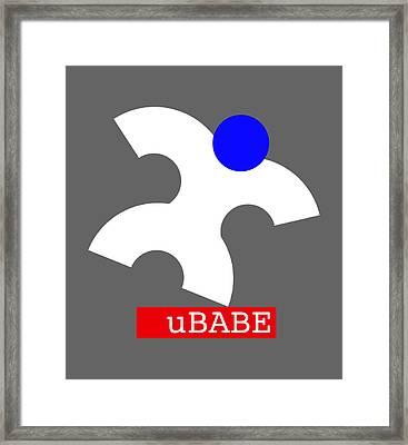 Ubabe Jazz  Framed Print