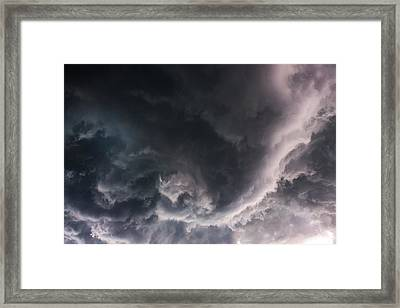 Under The Developing Funnel Framed Print by Nzp Chasers