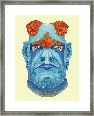 Undorkhan, Maggotroll Colonel Framed Print