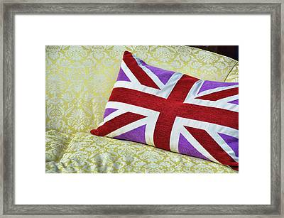 Union Royal Flag Framed Print by JAMART Photography