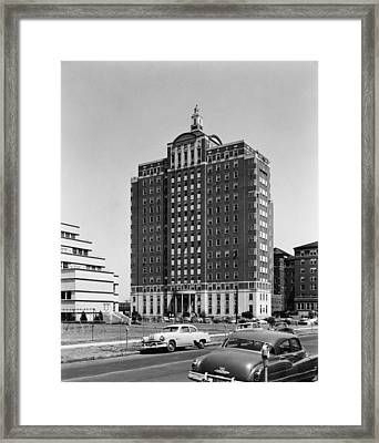 University Hospital Framed Print by Archive Photos