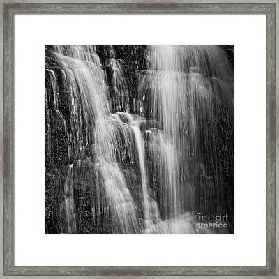 Framed Print featuring the photograph Upper Cascade by Patrick M Lynch