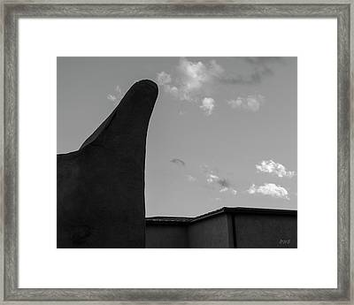 Framed Print featuring the photograph Urban Abstract IIi Bw by David Gordon