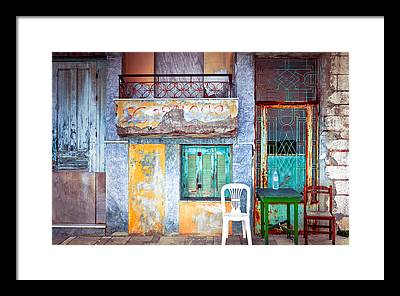Dilapidation Framed Prints