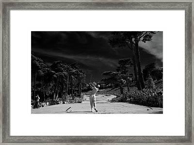 Tiger Woods Framed Art Prints