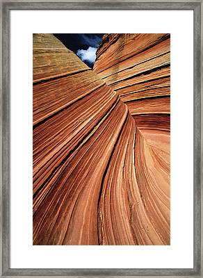 Usa, Arizona, Vermilion Cliffs National Framed Print by Philippe Bourseiller