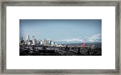 Vacouver Winter 1 Framed Print