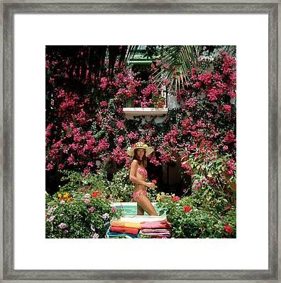Valerie Cates Framed Print