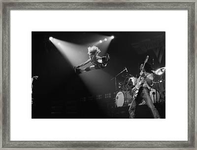 Van Halen At The Rainbow Framed Print