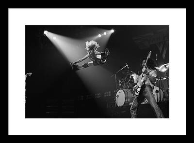 Guitarist Framed Prints