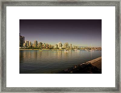 Vancouver In Magical Hours Framed Print