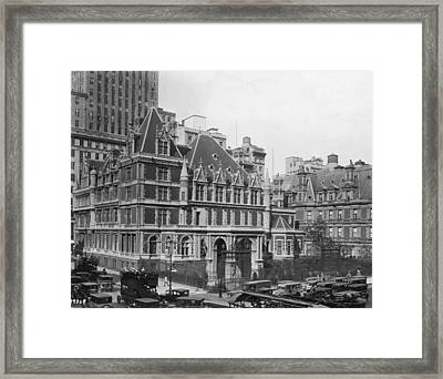 Vanderbilt Mansion Framed Print by Edwin Levick