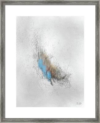 Vanilla Pelt Framed Print