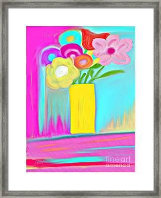 Vase Of Life Framed Print