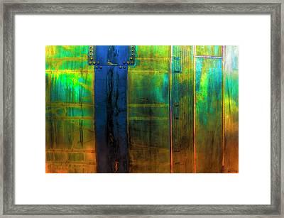Vertical Heavy Metal Framed Print