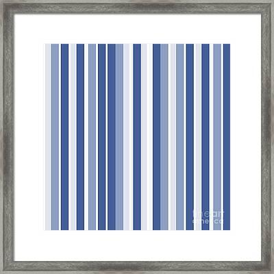 Vertical Lines Background - Dde605 Framed Print