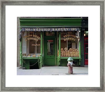 Vesuvio Bakery Framed Print