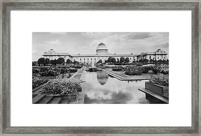 Viceroys House Framed Print by Hulton Archive