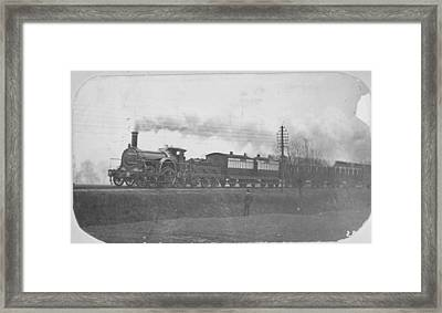 Victorian Express Framed Print by Hulton Archive
