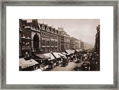 Victorian London Framed Print by London Stereoscopic Company