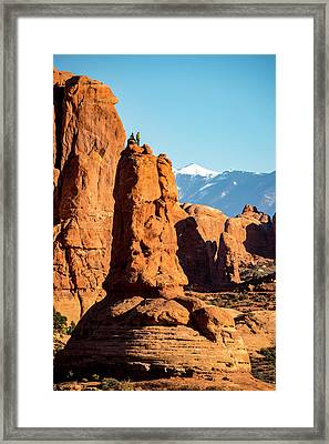 Framed Print featuring the photograph Victory Dance by David Morefield