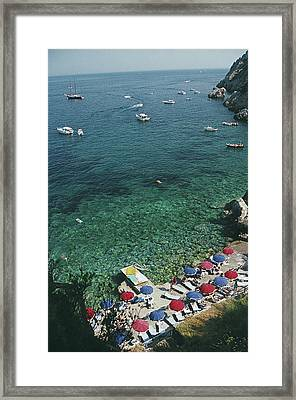 View From Il Pellicano Framed Print
