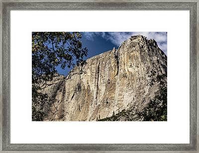 View From The Capitan Framed Print